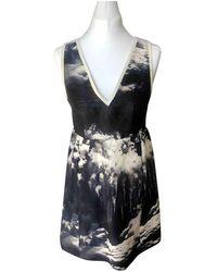 Carven Silk Mini Dress - Multicolor