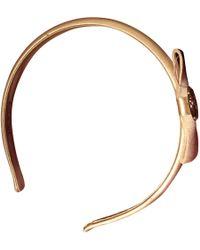 Valentino - Beige Silk Hair Accessories - Lyst