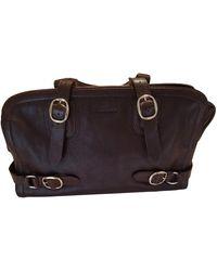 Burberry Leder Handtaschen - Braun
