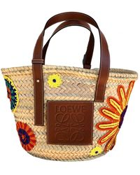Loewe Basket Bag Shopper - Mehrfarbig