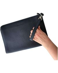 Ferragamo Leather Small Bag - Blue