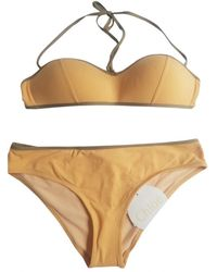 Chloé Two-piece Swimsuit - Yellow