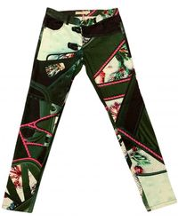 Mary Katrantzou Skinny jeans - Grün