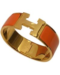 Hermès Clic H Armbänder - Orange