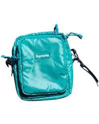 Supreme Leather Small Bag - Green