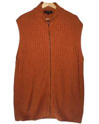 Burberry Wolle Weste - Orange