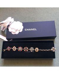 Chanel Gold Metal Bracelet - Blue