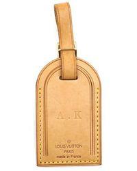 Louis Vuitton Beige Leather Purse Wallet & Case - Natural