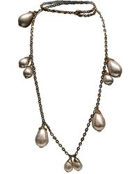 Louis Vuitton - Pearls Necklace - Lyst