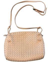 Bottega Veneta Nodini Crossbody Bag - Pink
