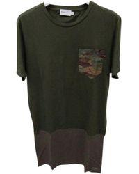 Moncler Green Cotton T-shirt