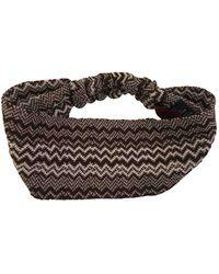 Missoni Sombrero en lana marrón