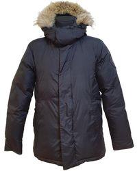 Canada Goose Mantel Polyester Schwarz - Blau