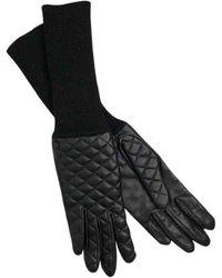 Rag & Bone Black Leather Gloves