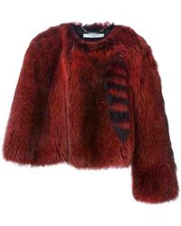 Givenchy Raccoon Coat - Multicolour