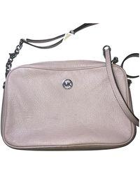 Michael Kors Brooklyn Leather Handbag - Pink