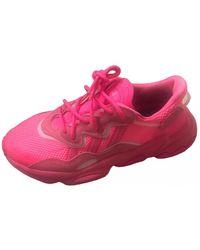 adidas Ozweego Lackleder Sneakers - Pink