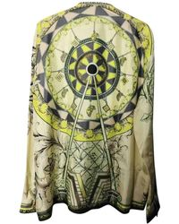 Versace Seide Hemd - Grün