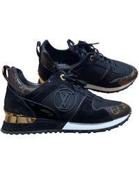 Louis Vuitton Sneakers Run Away in Tela - Blu