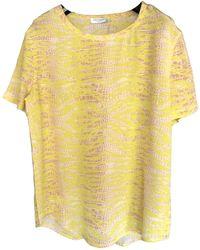 Equipment Silk T-shirt - Yellow