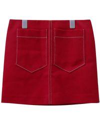 Chloé Mini Skirt - Red