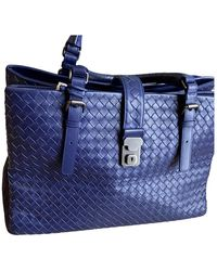 Bottega Veneta Roma Leder Handtaschen - Blau