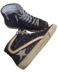 Golden Goose Deluxe Brand Slide Sneakers - Blau