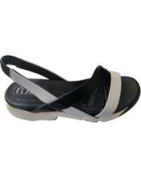 Dior Leder Pantoffeln - Schwarz