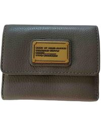 Marc By Marc Jacobs Leather Wallet - Natural