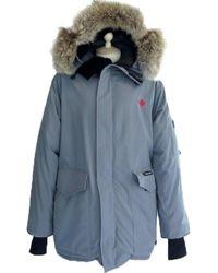 Canada Goose Gray Polyester Coat