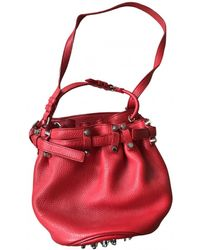 Alexander Wang Diego Leather Handbag - Red