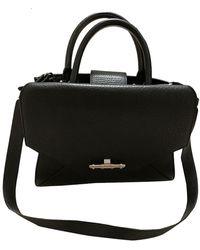 Givenchy Obsedia Leather Handbag - Black