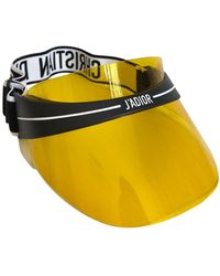Dior Cappelli in plastica giallo
