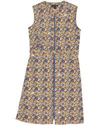 Louis Vuitton - Robe en Coton Jaune - Lyst