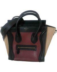Celine Nano Luggage Leder Handtaschen - Mehrfarbig