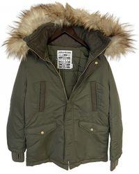 Zadig & Voltaire Khaki Cotton Coat - Green