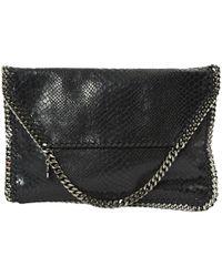 Stella McCartney - Falabella Leather Clutch Bag - Lyst