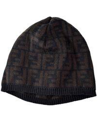 pretty nice 52d87 a9b2d Cappelli in lana marrone