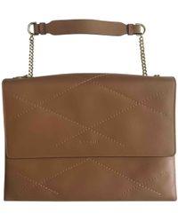 Lanvin - Sugar Leather Handbag - Lyst