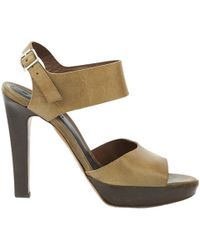 Marni - Pre-owned Leather Sandals - Lyst