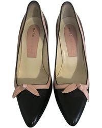 Marc Jacobs Leather Heels - Black
