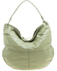 Bottega Veneta - Green Leather - Lyst