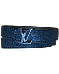 Louis Vuitton Leather Bracelet - Green