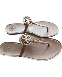 Tory Burch Flip-flops - Mettallic