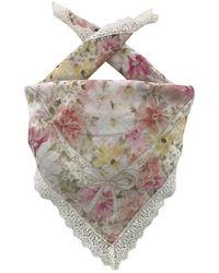 Nina Ricci Cotton Scarves - Multicolour