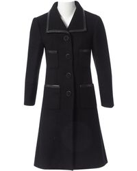 Chanel Black Cashmere Coat