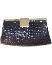 Sonia Rykiel - Black Exotic Leathers Clutch Bag - Lyst