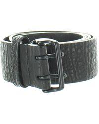 Helmut Lang Leather Belt - Black