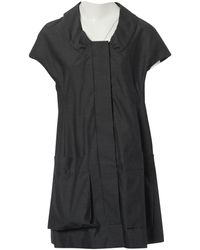 Marni - Anthracite Cotton Dress - Lyst