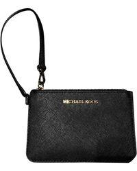 Michael Kors Leather Purse - Black